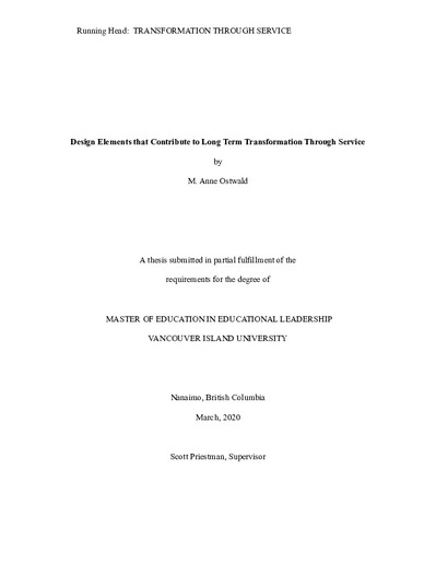 Masters education thesis sample a sample of a resume for a job